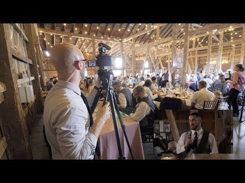 How to Film a Wedding - A Complete Behind the Scenes in 4K.