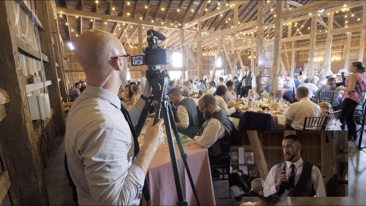 How To Film A Wedding Complete Behind The Scenes In 4k Filming With Gh5