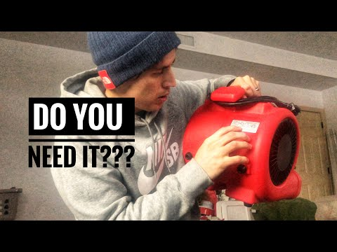 An air mover for auto detailing? My review