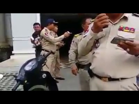 Nigerians Arrested And Paraded by Immigration Police in Cambodia