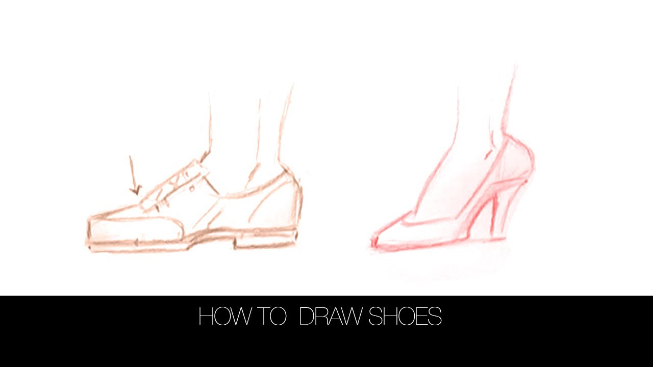 How To Draw Shoes: Drawforever