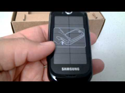 Samsung S7550 Blue Earth Unboxing Video - Phone in Stock at www.welectronics.com