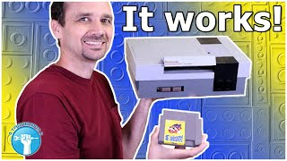 Hey LEGO, I Fixed Your NES! - I Built A LEGO NES That Really Works!