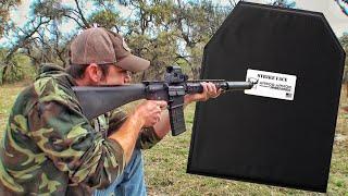 защитит ли броня из кевлара от пули из винтовки? | Разрушительное ранчо | Перевод Zёбры