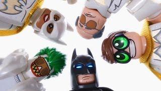 Batman lego amigos uma de família