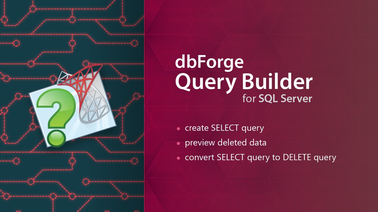 SQL Query Builder Tool to Design and Edit Queries Visually