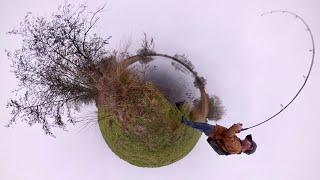 Pike Fishing with Amazing 360 Camera