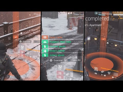 THE NEW BEST WAY TO GET EXOTIC WEAPONS & GEAR? | THE DIVISION 1.8.1