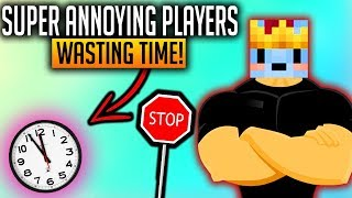 **ANNOYING** PLAYERS ARE WASTING MY TIME! (Minecraft Solo BedWars)