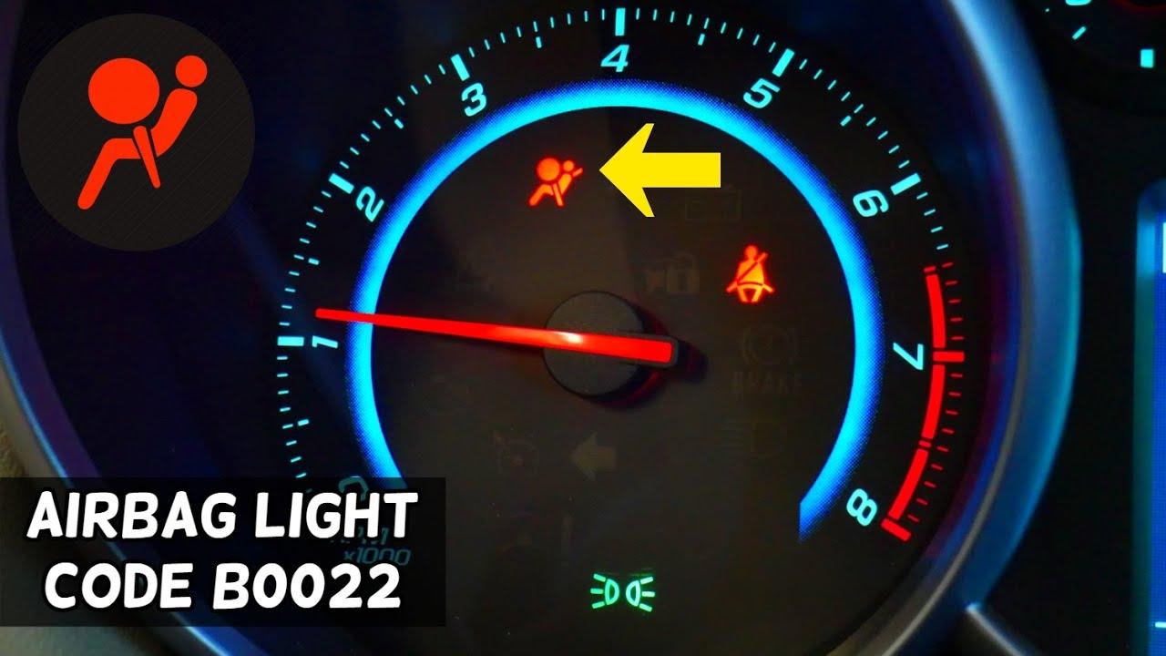 AIRBAG LIGHT ON CODE B0022, B0022 04 FIX CHEVROLET, BUICK, GMC, CADILLAC, CHEVY, OPEL