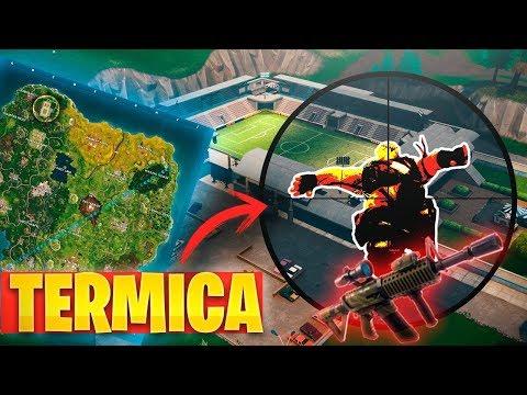 **NUEVO** ESTADIO Y ARMA  con MIRA TERMICA! TRAMPAS en RAMPAS! FORTNITE: Battle Royale thumbnail
