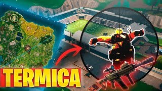 **NUEVO** ESTADIO Y ARMA  con MIRA TERMICA! TRAMPAS en RAMPAS! FORTNITE: Battle Royale