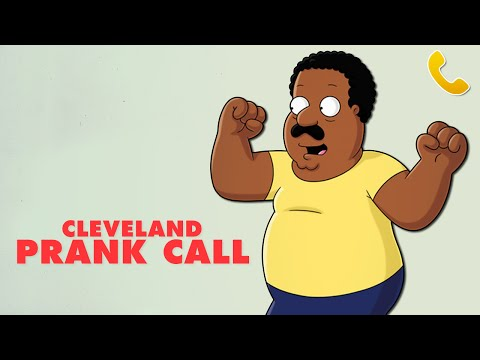 CLEVELAND BROWN PRANK CALL