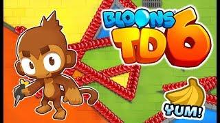 Download 100 Robo Monkeys Vs 1 B A D Bloon Infinite Money