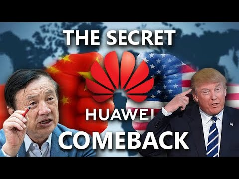 The SECRET HUAWEI Comeback Plan After TRUMPS BAN !