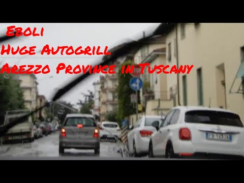 Salerno Province to Arezzo Province | The Best Autogrill in Italy