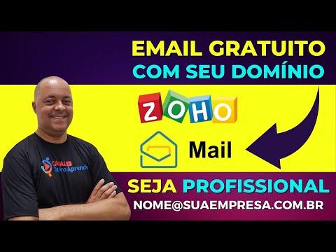 Como ter um email gratuito com domínio próprio | ZohoMail