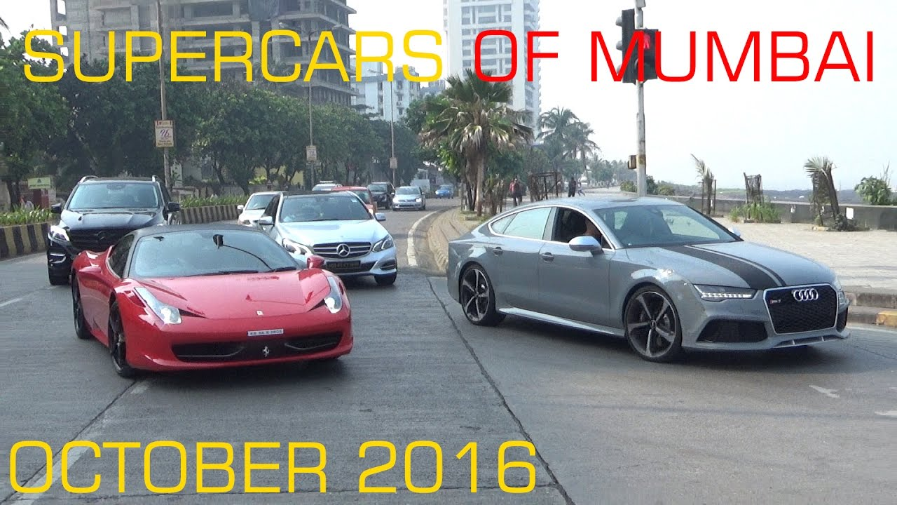 Supercars Of India Mumbai October Youtube