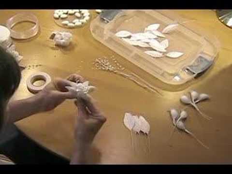 How to make Deluxe Jordan Almond Flower Wedding Favors - YouTube
