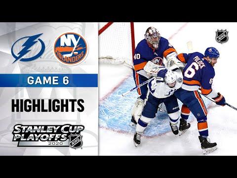 NHL Highlights | ECF, Gm6 Lightning @ Islanders - Sept. 17, 2020