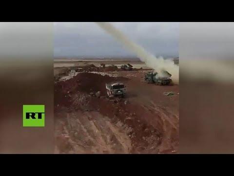 RT en Español: Misiles turcos dirigidos a objetivos kurdos en Afrín
