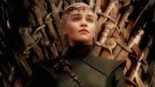 Night King burning King's Landing   Daenerys becomes Queen (Alternative Ending)