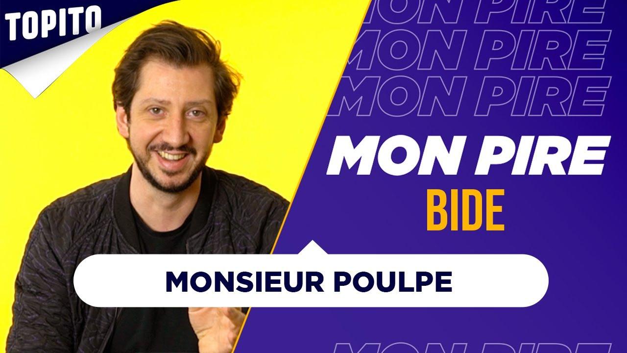 "Monsieur Poulpe : ""J'ai vécu 6 minutes de bide intersidéral"" | Mon Pire Bide"
