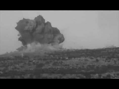Ufo / Bombing on Syria Desert [2012]