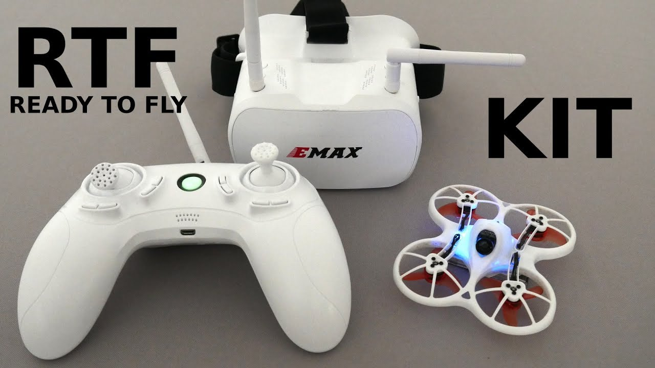EMAX Tinyhawk RTF kit Brushlesswhoop review