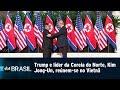 Trump e líder da Coreia do Norte, Kim Jong-Un, reúnem-se no Vietnã | SBT Brasil (26/02/19)