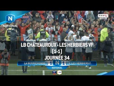 J34 : LB Châteauroux - Les Herbiers VF (1-1), le résumé