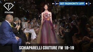 Schiaparelli Couture Fall/Winter 2018-19 Paris Haute Couture | FashionTV | FTV