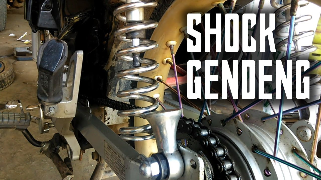 Cara Memasang Manual Anting Shock Belakang Yang Lepas Youtube Shogun 110 Smash Lama