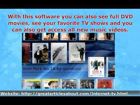 Internet TV: Watch TV on Computer Download Over 3000 Channels