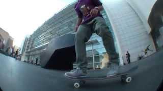 Raul Escalante funny line at macba, skate life.