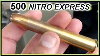 500 Nitro Express ELEPHANT GUN  in slowmo thumbnail