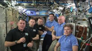 Expedition 50 Crew Hands Over the Space Station to Expedition 51