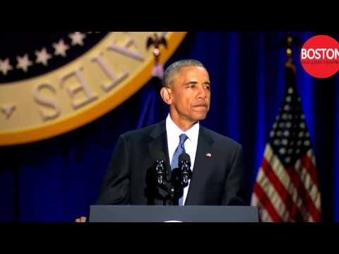 President Obama Farewell Speech   -   English subtitles