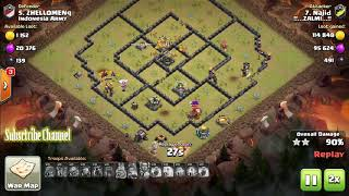 """Clan War Leagues"" Season - Round 3 - Clash of Clans TH12 Pro Attacks"