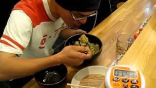 2分58秒 加藤侑一 (筑波大学 馬術部) 早食い メガ盛り 1キロカレー...