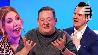 NAKED Carrot In a Box & Johnny Vegas STOPS Show with His Sneezing?! | 8 Out of 10 Cats