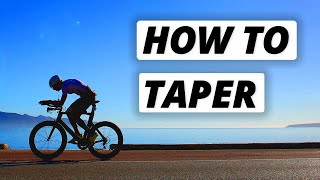 How to Taper f๐r Competition | The Science