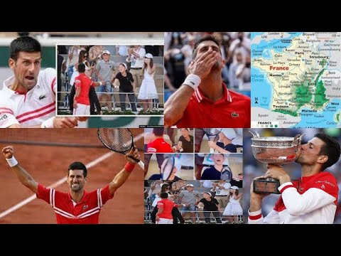 Djokovic gifts racket to young fan after French Open win, boy's reaction goes viral