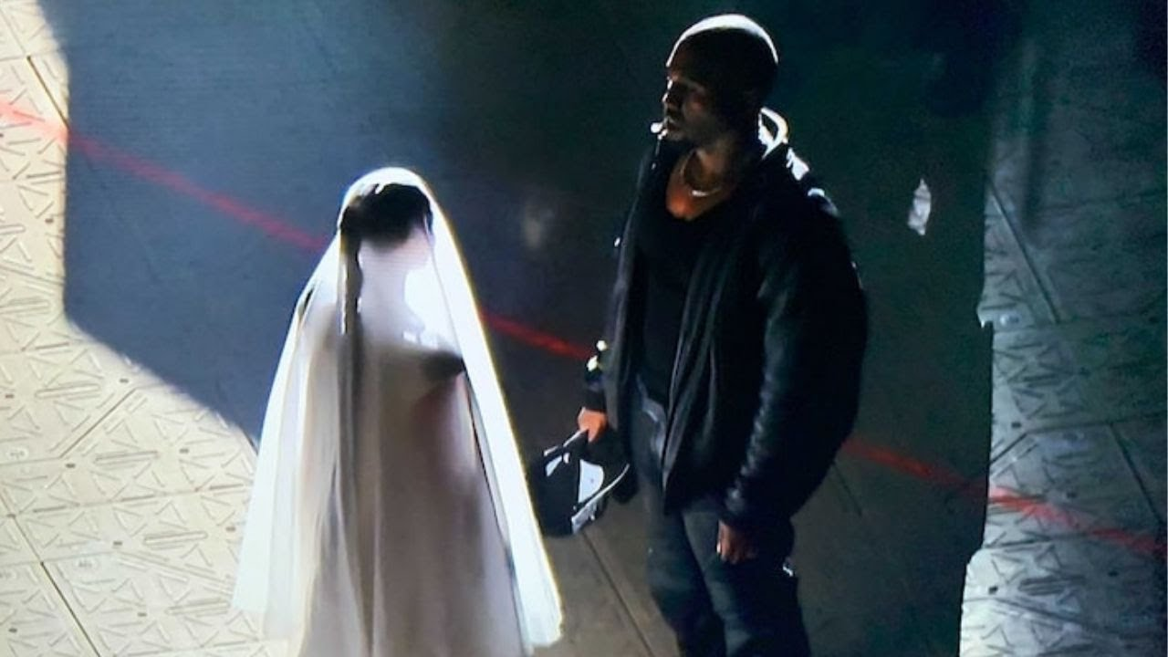 Kanye West sets himself on fire, remarries Kim at latest 'Donda ...