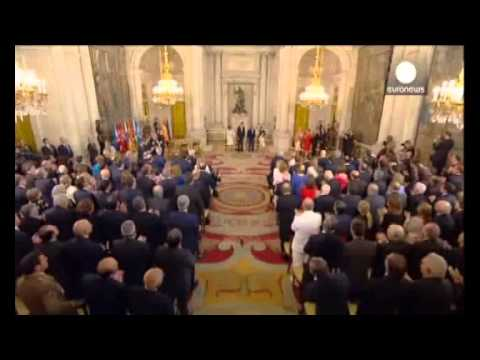 Spain: King Felipe VI sworn in after the abdication of King Juan Carlos
