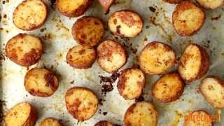 Potato Recipes - How To Make Oven Roasted Parmesan Potatoes