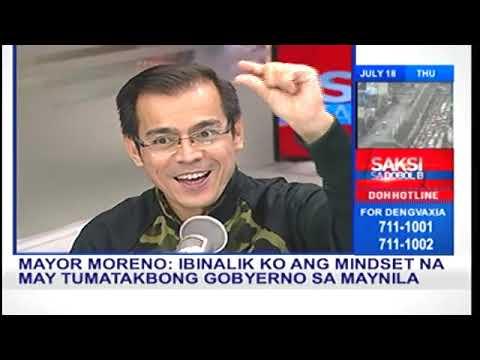 Mike Enriquez Saksi sa Dobol B: Manila Mayor Isko Moreno