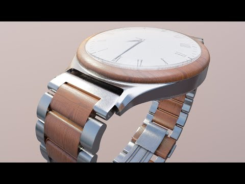 Modeling A Photo Realistic Watch In Blender 2.8