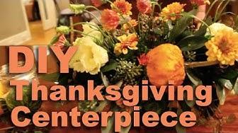 DIY Thanksgiving Centerpiece | Pollen Nation Floral Studio
