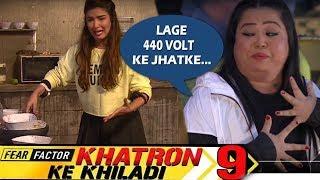 khatron-ke-khiladi-9-bharti-romancing-with-tarantula-spider-jasmins-get-spooky-torture